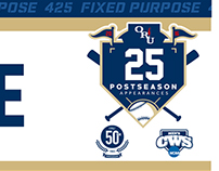 2014 ORU Baseball Clubhouse Nameplates