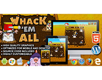 HTML5 Game: Whack 'em All