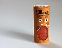 NOMsters Pre-Sliced Oranges Packaging