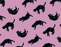 Falling Cats Pattern