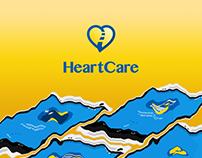 HeartCare App design