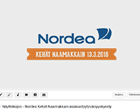 Nordea customer satisfaction video