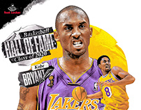 2020 BASKETBALL HALL OF FAME ARTWORK