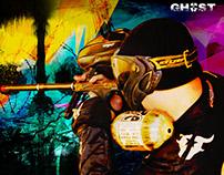Imagens Paintball. Equipe ghost rj