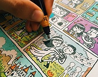 Dibujo a Pedido - Principe & Princesa