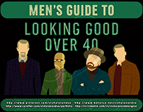 MEN'S GUIDE TO LOOKING GOOD OVER 40