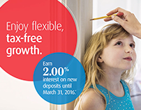 BMO Savings Growth Ad In-Branch Video Promo