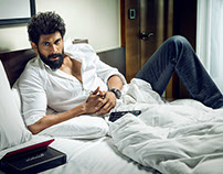 Provoke Cover Shoot with Rana Daggubati
