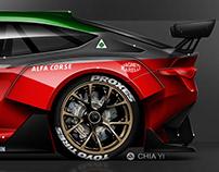 G-project Alfa Romeo GTV6 GT4 concept