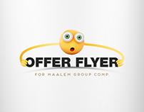 Flyer design   Maalem Group Comp.