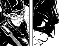 CATWOMAN - sample pages