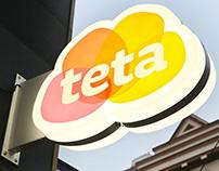 Teta Drugstore – brand identity