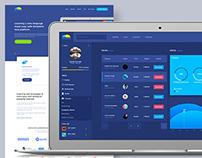 BirdyBird - Dashboard & Landing Page Design