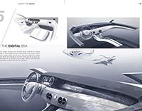 Bachelor thesis Daimler AG S class interior concept