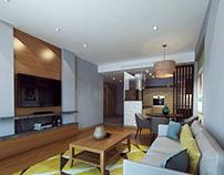 Apartment 1 in Port Baku residence