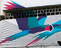 Aves Cruzeñas Mural