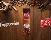 Riwa Bixa CappuccinoAmbalaj Tasarımı