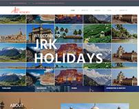 Web Design & Development for JRK Holidays