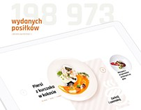 Catering company website