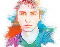 Color Dust Impression Photoshop Action