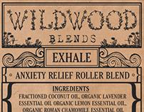 Wildwood Blends Branding and Label Design