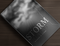 Shadow Storm - Book cover (ReDesign)