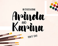 Arinda & Karina | Font Duo