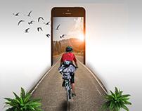 3d Iphone effect