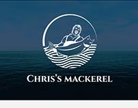 CHRIS'S MACKEREL LOGO DESIGN