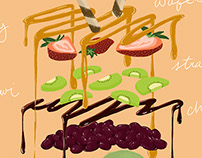 Deconstructed Food Poster