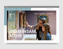 Freunde der Staatsgalerie |Website