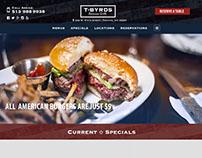 TByrds American Grille web design