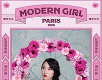 MODERN GIRL, 2016