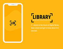 Smart Library App UI