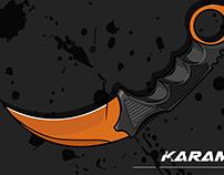 KARAMBIT(VECTOR ART)