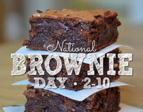 National Brownie Day Promotion 2/10/15
