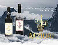 Разработка логотипа и этикетки для ТМ MZIURI