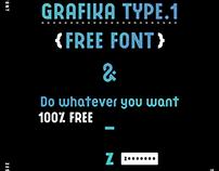 FREE FONT : GRAFIKA TYPE.1