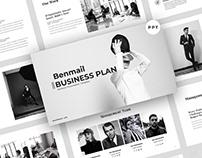 Benmail - Business Presentation Template