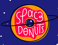 Space Donuts - Website