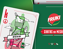 Cartas - Fruki Refrigerante - Alopra Estúdio