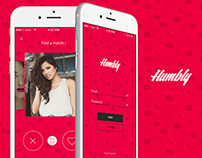 Humbly - Dating Mobile App UI Design