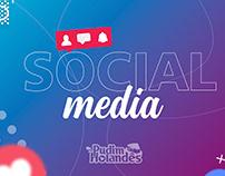 Social Media - Pudim Holandês