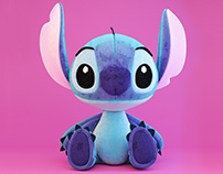 3d model of stitch toy