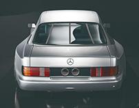 KARRBON SERIES 02   Mercedes W126   CGI