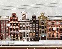Ámsterdam. Digital Illustration.