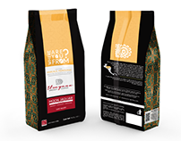 Itzayana Specialty Coffee. Package bag design.