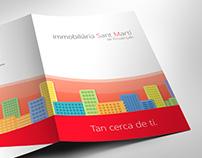 Inmobiliaria Sant Martí - Folder Design