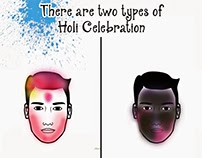 Two types of Holi