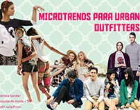 Microtrends para Urban Outfitters